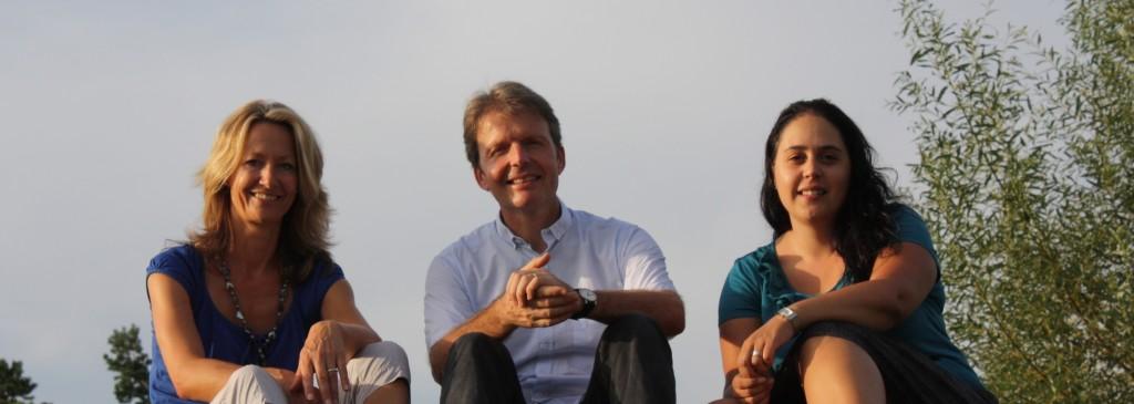 Sie übernehmen in der Gemeinde Verantwortung, von Links: Karin Gresser Tüscher im Schulrat, Stefan Sieber im Gemeinderat und Sandra Stoffel-Hämmerle in der GPK.